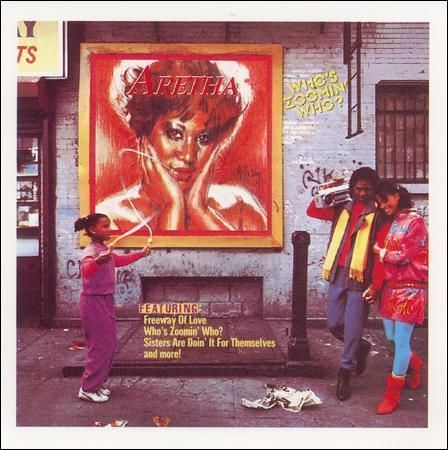 Who S Zoomin Who By Aretha Franklin Vinyl Bmg Special Products