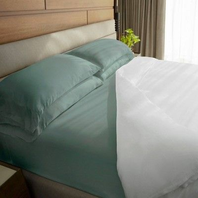 California King 100 Rayon From Bamboo Sheet Set Tahitian Breeze