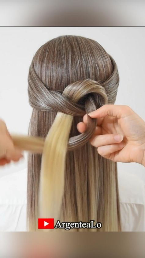 How to create a knotted Braid quickly and easily! 😍