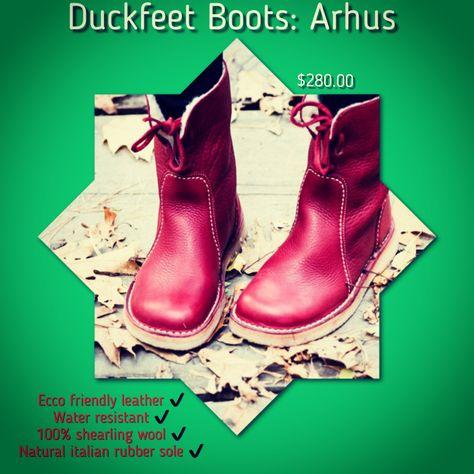 podiatrist Holiday Boots = Duckfeet!...