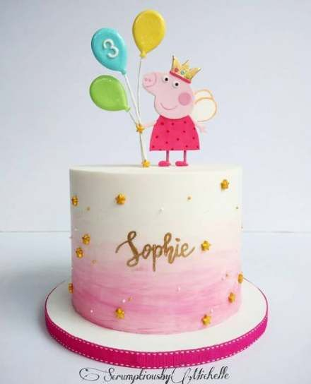 New Birthday Kids Girls Peppa Pig 30 Ideas Birthday With Images