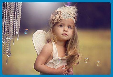 1965daf6f1a0 Allure Designs Girls Feather Headband Baby Girl Feather Headband in ...