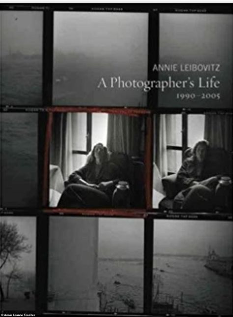 Several of the pieces are coffee table books from celebrity photographs, including A Photographer's Life: 1990-2005 by Annie Leibovitz, who has photographed the Royal Family throughout the years