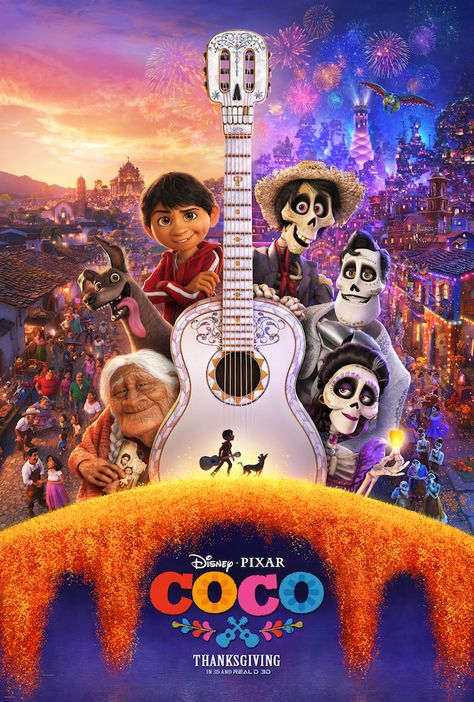 disney pixar COCO movie a celebration of family and Mexican culture