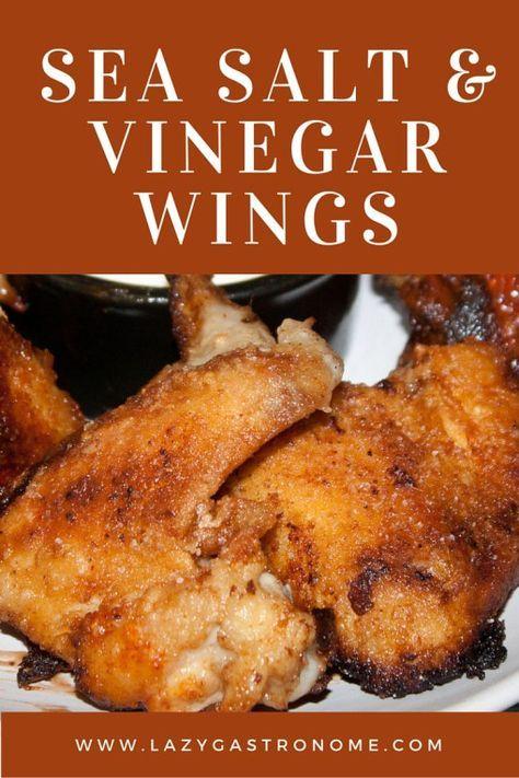 sea salt and vinegar chicken wings wing recipes vinegar chicken chicken wing recipes sea salt and vinegar wings