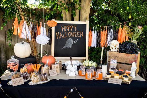 20 Stylish Halloween Décor and Party Ideas - Glitter, Inc.Glitter ...