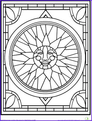8 Inspirational Stained Glass Coloring Book Photos Stained Glass Patterns Free Abstract Coloring Pages Stained Glass Butterfly