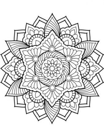 Trendy Flowers Drawing Design Mandalas Coloring Pages Ideas Mandala Coloring Pages Coloring Book Pages Mandala Coloring Books