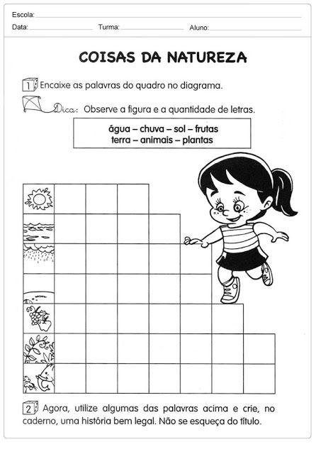 70 Atividades De Meio Ambiente Para Educacao Infantil Atividade