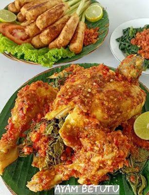 Ayam Betutu Bali Resep Ayam Resep Masakan Masakan