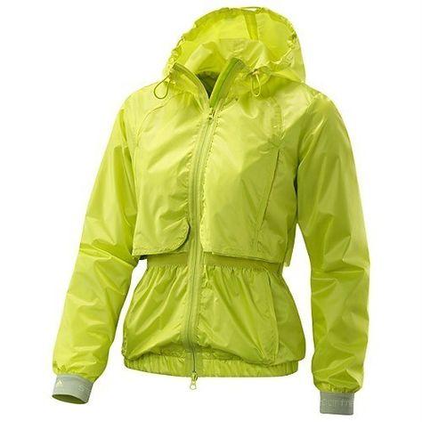 pick up exclusive range hot sale Adidas Stella McCartney Run Jacket SMALL S ACID BRIGHT NEON ...