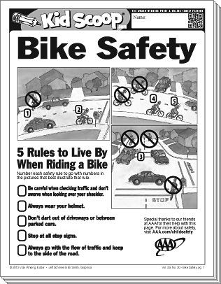 Bike Safety With Images Bike Safety Bike Safety Activities