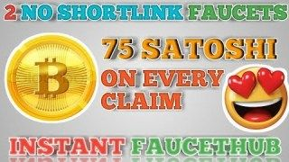 NO SHORTLINK 2 SUPER BITCOIN FAUCET    GET 75 SATOSHI ON