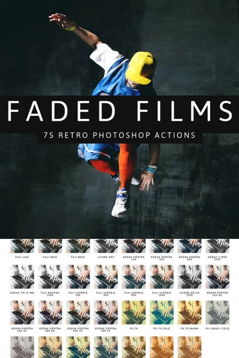 Faded Films - 75 Film & Retro Effect