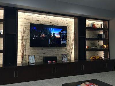 Modern Pop Wall Niches Designs Ideas With Lighting For Wall Decoration 2019 Decor Salon Maison Meuble Mural Deco Interieur Salon