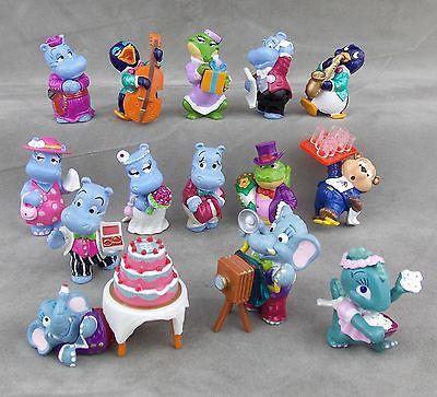 Details Zu Uberraschungsei Figuren Happy Hippo Hochzeit Auswahl