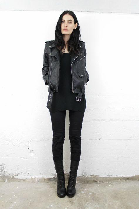 I love it when my blacks all match ;-)