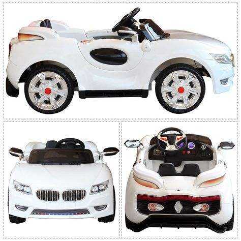 Children Ride On Electric Car Baby Blue Bmw X6 With Genuine License