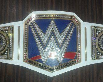 WWE Women Heavyweight Championship Replica Title Belt Gold