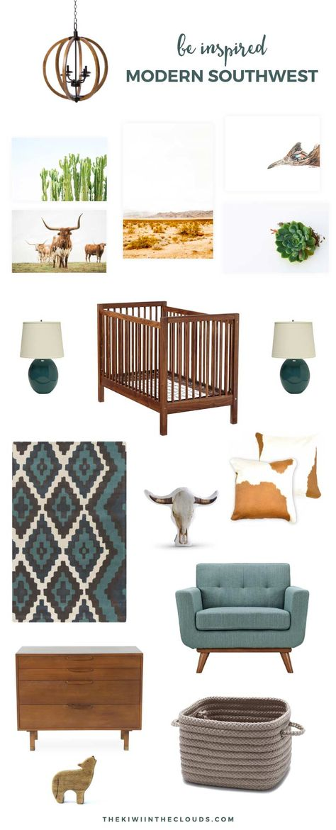 Account Suspended - - Embrace the natural beauty of the southwest with this modern and stylish southwest baby nursery inspiration for boys or girls. Nursery Modern, Baby Nursery Decor, Girl Nursery, Nursery Ideas, Cowboy Nursery, Natural Nursery, Room Ideas, Nursery School, Boho Nursery