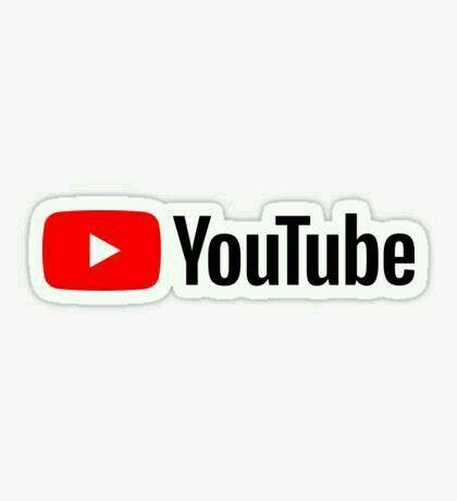 Youtube Logo Youtube Logo Snapchat Logo Logo Sticker