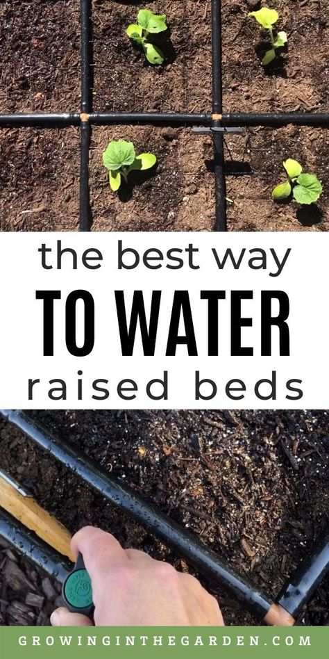 How to Water Raised Bed Gardens