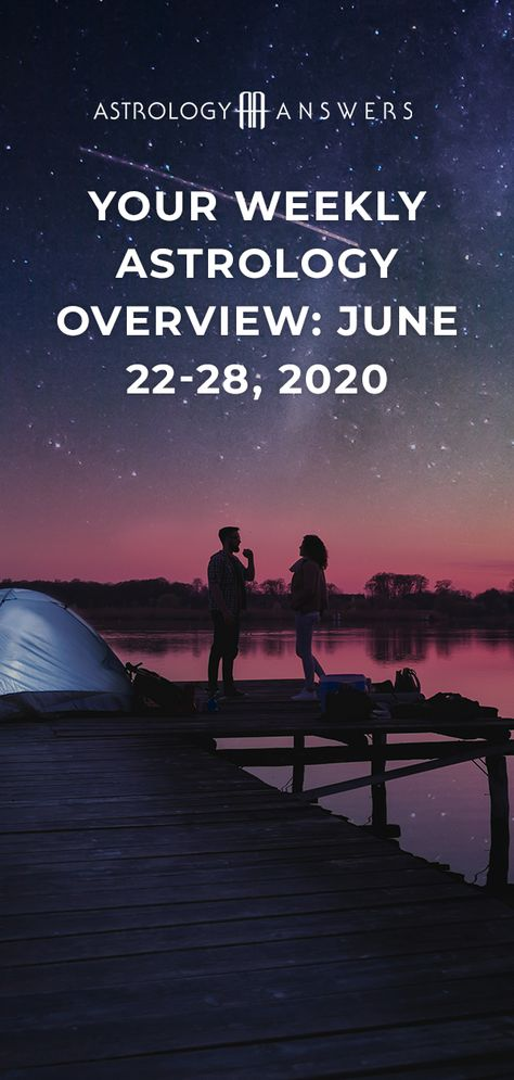 With the Sun and Mercury in Cancer this week, how will it flavor your world?   Read our Weekly Astrology Overview for the week of June 22-28th to find out! #astrology #astrologyanswers #weeklyastrology #juneastrology