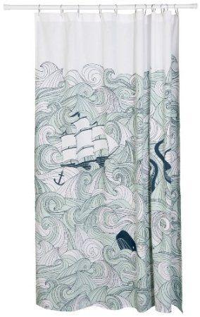 Amazon.com: Danica Studio Shower Curtain, Odyssey: Home & Kitchen