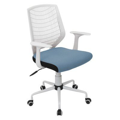 Zipcode Design Kane Desk Chair Color White Office Chair Adjustable Office Chair Contemporary Office Chairs