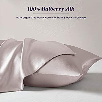 Natural Pure Silk Pillowcase for Hair