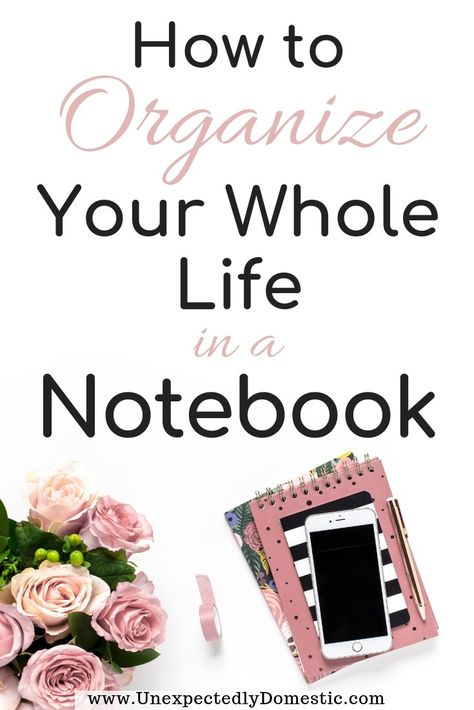 How to Organize Your Life With a Notebook: 15 Lists to Make to Stay On Track Which lists to make to organize your life in a notebook. These are fun lists to make when you're bored or feeling down or for fun. Notebook Organisation, Planer Organisation, Organization Lists, Organizing Life, Planning And Organizing, Organization Ideas, Bathroom Organization, Planner Tips, Life Planner