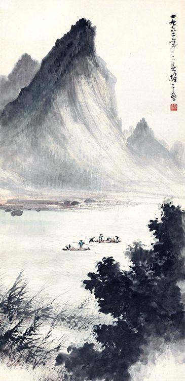 Li Xiongcai Chinese Landscape Painting Chinese Landscape