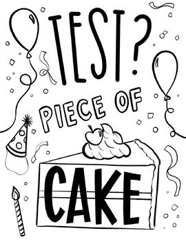Free Testing Encouragement Coloring Pages By Hipster Art Teacher In 2021 Testing Encouragement Coloring Pages Encouragement