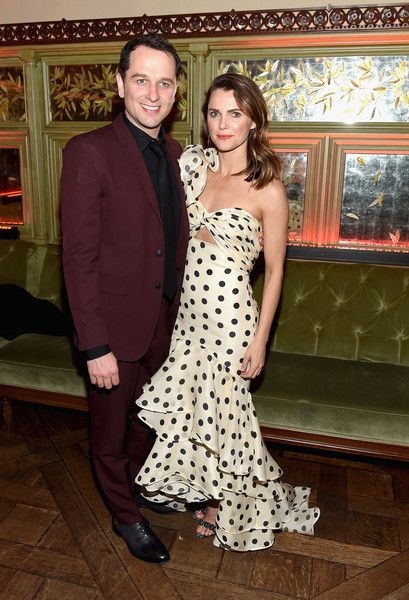 "Matthew Rhys and Keri Russell attend ""The Americans"" Season 6 Premiere - After Party at Tavern On The Green on March 16, 2018 in New York City."
