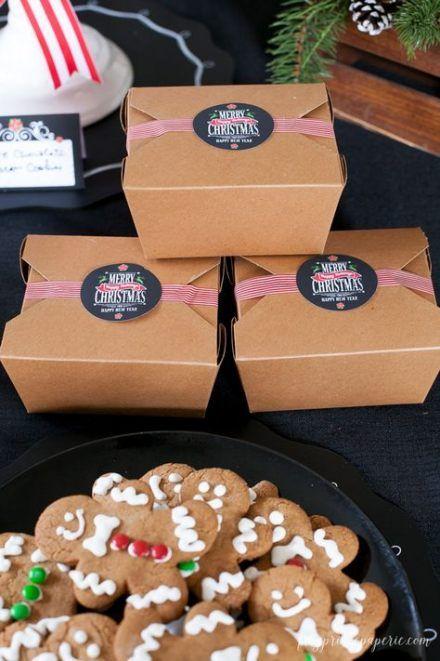 Trendy Cookies Packaging Ideas Box Ideas Christmas Cookies Packaging Cookie Exchange Packaging Christmas Cookies Gift