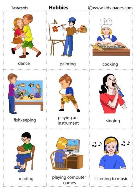 hobbies and extracurricular activities examples