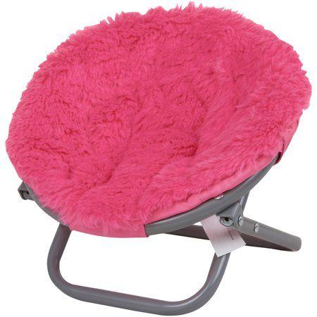 "NEW My Life as Hello Kitty 18/"" Doll American Papasan Saucer Chair White"