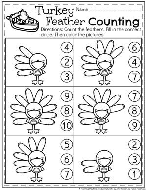 Preschool Thanksgiving Activities With Images Thanksgiving
