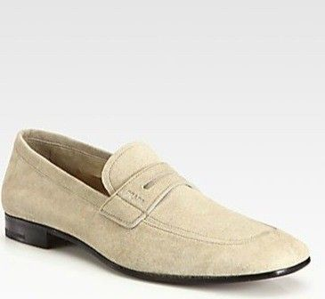 Loafers & Slippers - Slip On Suede Sneaker Desert - beige - Loafers & Slippers for ladies Prada BPJlFdxkiw