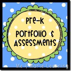 Pre-K portfolio-and-assessment