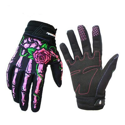 Full Finger Non-Slip Gloves Cycling Bicycle Motorcycle Climbing Gloves Gray