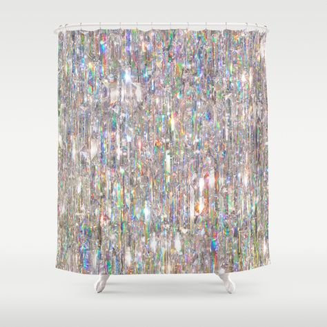 To Love Beauty Is To See Light Crystal Prism Abstract Shower