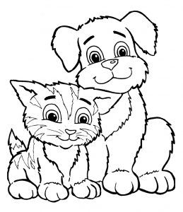 Printable Puppy Coloring Pages Ideas Free Coloring Sheets Dog Coloring Page Cat Coloring Page Animal Coloring Pages
