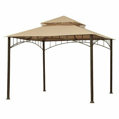 Garden Winds Summer Veranda Gazebo Replacement Canopy Colour Beige Material Fabric Gazebo Canopy Gazebo Replacement Canopy Gazebo