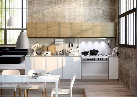 Colores Neutros Lineas Puras Y Mucha Luz Para Esta Cocina Moderna