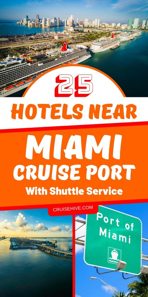 27 Hotels Near Miami Cruise Port With Shuttle Service For 2019
