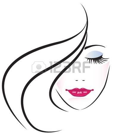 23++ Logo coiffure femme des idees