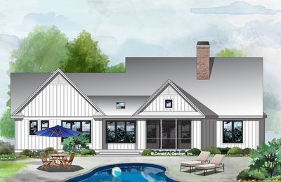 House Plan The Ashbry By Donald A Gardner Architects Farmhouse Style House Plans Farmhouse Style House House Plans Farmhouse