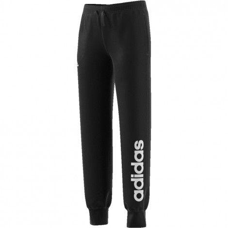 adidas Essentials Linear fleece joggingbroek junior black ...
