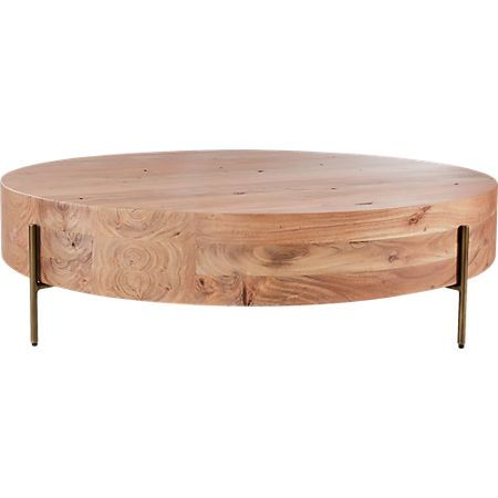 Proctor Low Round Wood Coffee Table Reviews Coffee Table Wood Round Wood Coffee Table Coffee Table